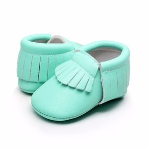 Other - Aqua baby soft sole Moccs moccasins baby shoes